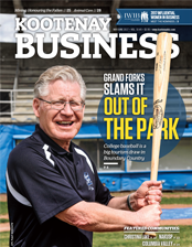 Kootenay Business magazine cover
