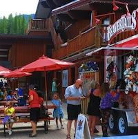 Fernie Alpine Resort in the summer.
