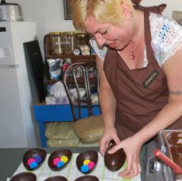 Jennifer Chocolates in Nakusp is one of Pamela Clausen's clients.