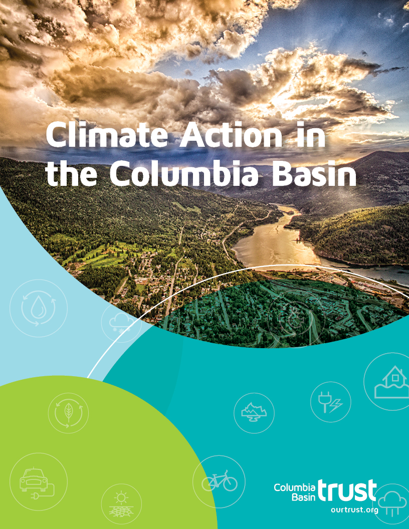 Cover of Climate Action booklet.