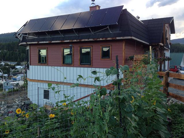 Jori Adank's net zero energy (NZE) home in Kimberley, B.C.