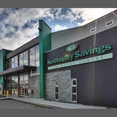 Kootenay Savings building in Trail