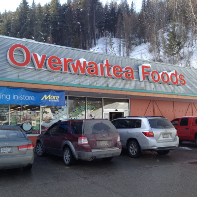 The front of Overwaitea Foods in Kimberley is pictured