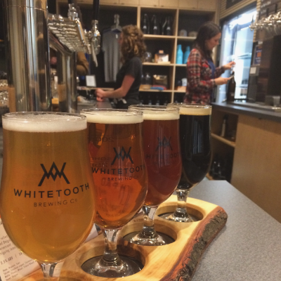 (L to R) Kent Donaldson is president and chief beer officer and Mark Nagao is his business partner at Whitetooth Brewing Company.