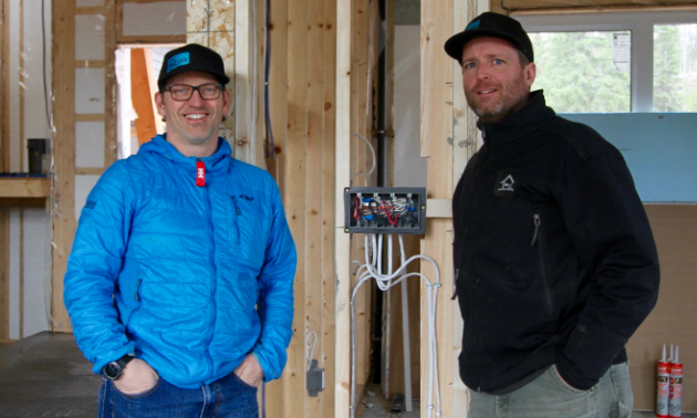 (L to R) Steve Whelan and Ian Larsen, owners of LWE in Fernie.