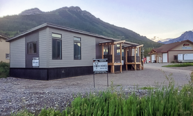 Cinch Homes' new location in Fernie