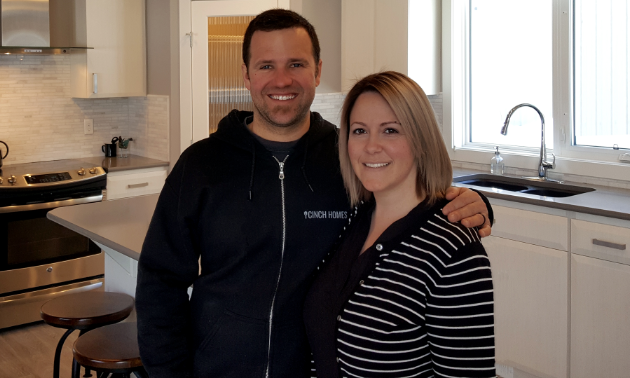 Mike and Melissa MacKay own Cinch Homes in Fernie.