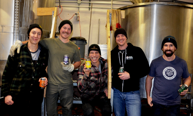Nelson Brewing Company staff