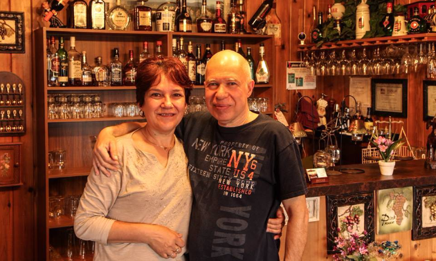 Owners Steven Zoltan and his wife Edith Fazakas.