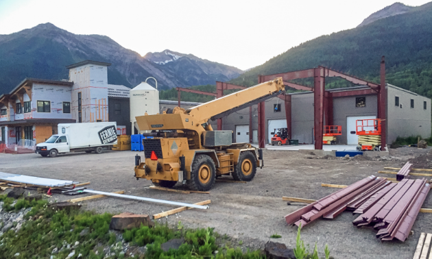 Renovations are underway at Fernie Brewing Company