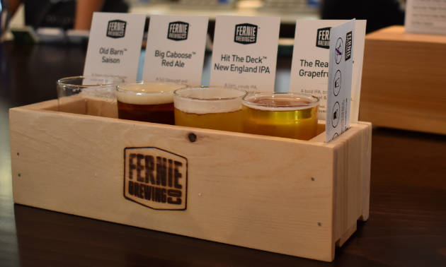 Purchase a flight of four beers at FBC and they'll donate all profits to a worthy charity, organization or club.