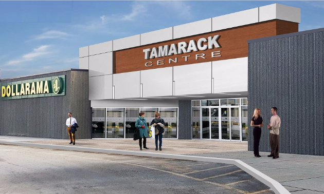 Image rendering of the Tamarack Centre