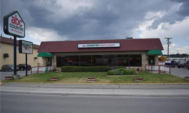 ABC Family Restaurant, located in Cranbrook.