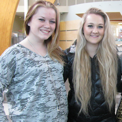 Jamie, Haley, Jane and Mercedes are students in the Ace It Hairstyling program at College of the Rockies.