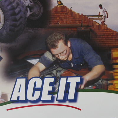 Ace It is a dual-credit program for high school students who wish to begin training for a career in the trades.