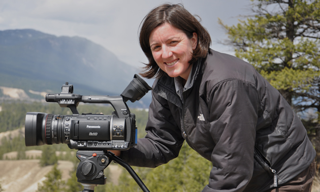 Amy Bohigian is a successful filmmaker and media artist based in Nelson, B.C.