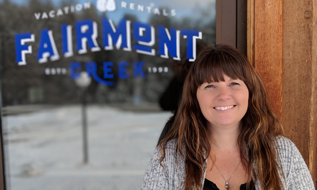 Angela White is the office manager for Fairmont Creek Vacation Rentals in Fairmont Hot Springs, B.C.