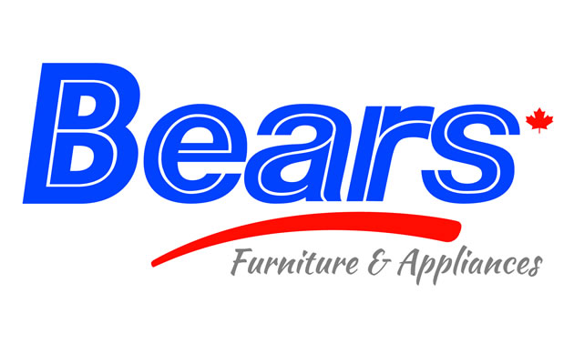 The newly revamped logo for Bears Furniture and Appliances in Nelson.