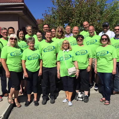 Participants of the Cranbrook Business Walk, held on June 28th.