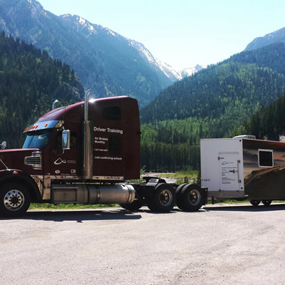 College of the Rockies offers truck driver courses with the perfect classroom setting in the Rockies.