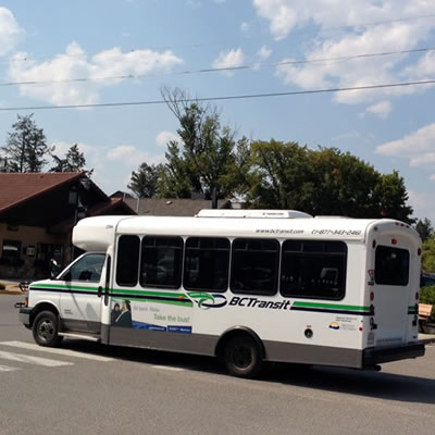 The Calgary Connector bus.