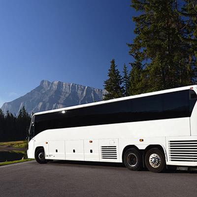 Large passenger bus.