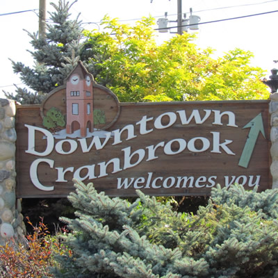 Cranbrook is the largest urban centre in southeastern B.C.'s Kootenay region.