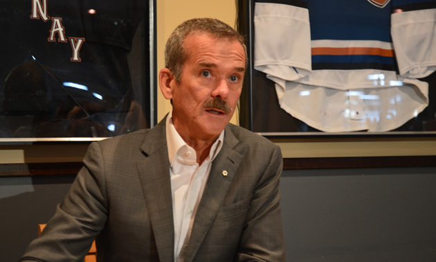 Canadian astronaut Colonel Chris Hadfield was the keynote speaker at a Columbia Basin Trust Symposium in mid-October 2017.
