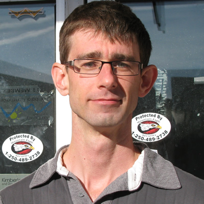 Colin Fitzgerald is the owner of Place Droid, an electronics manufacturer in Kimberley, B.C.