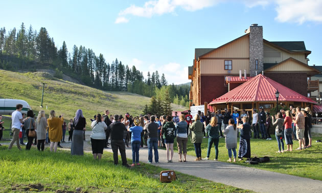 In May 2016, youth from around the Basin participated in a summit organized by Columbia Basin Trust's Basin Youth Network.