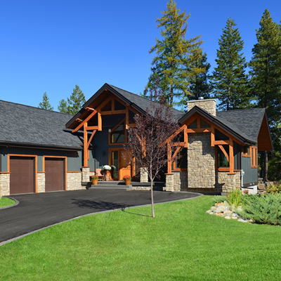 Tyee Homes of Kimberley, B.C., builds homes to suit the needs and wishes of its clients.
