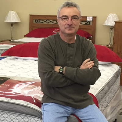 Dan Rotella owns and operates Quality For Less Furniture in Fernie, B.C.
