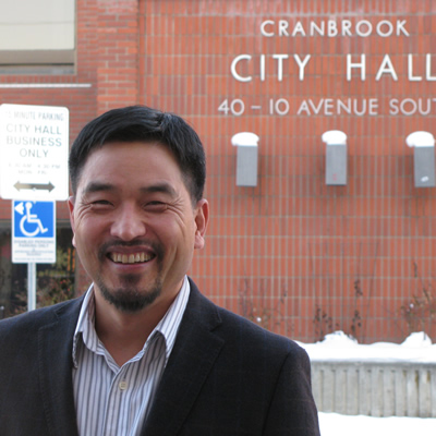 David Kim takes pleasure in serving the City of Cranbrook as its chief administrative officer.