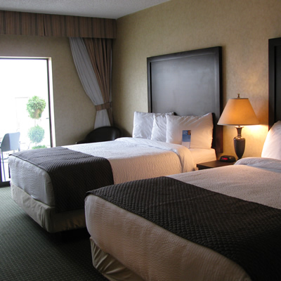 All guest rooms at Cranbrook's Days Inn have new furnishings.