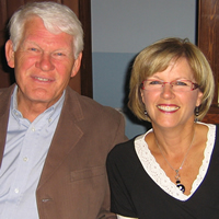 Photo of Radium Mayor, Dee Conklin and here husband, Rod