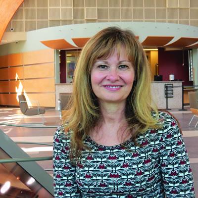 Doris Silva, College Director of Student Affairs.