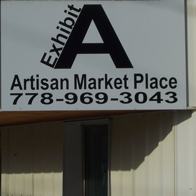 Exhibit A Artisan Market Place is a multi-vendor market in Grand Forks, B.C.