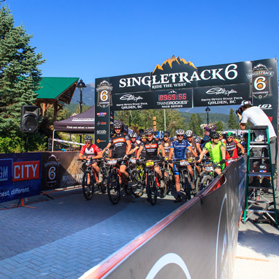 The SingleTrack 6 bike race is a huge annual event in Golden, B.C.