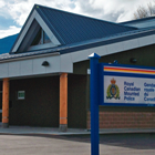 Photo of the new RCMP building in Golden, B.C