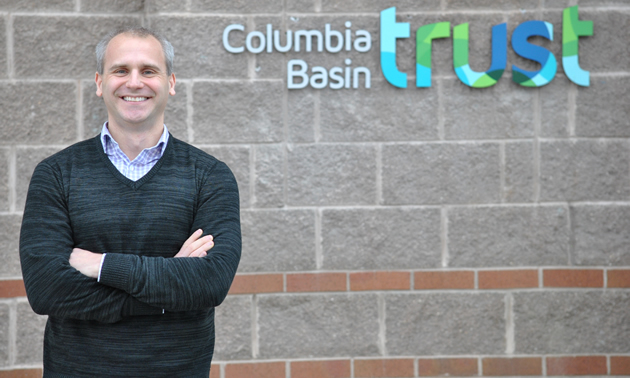 Johnny Strilaeff is the new President and CEO of Columbia Basin Trust, headquartered in Castlegar, B.C.