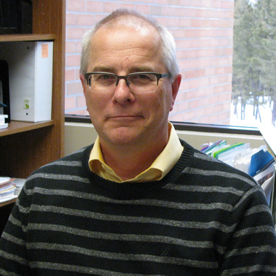 Jack Moes, dean of trades and technology at College of the Rockies, is pleased about the imminent $10-million expansion of the trades teaching facility.