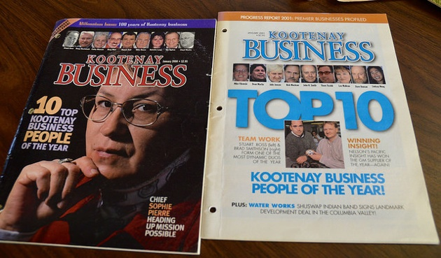 30 years of Kootenay Business Magazine.