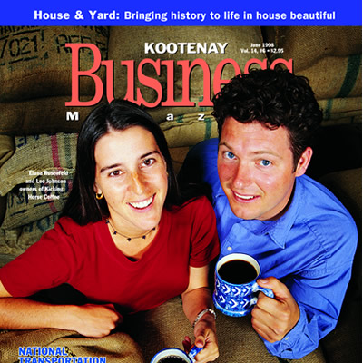 Cover story from June 1998 issue of Kootenay Business magazine.
