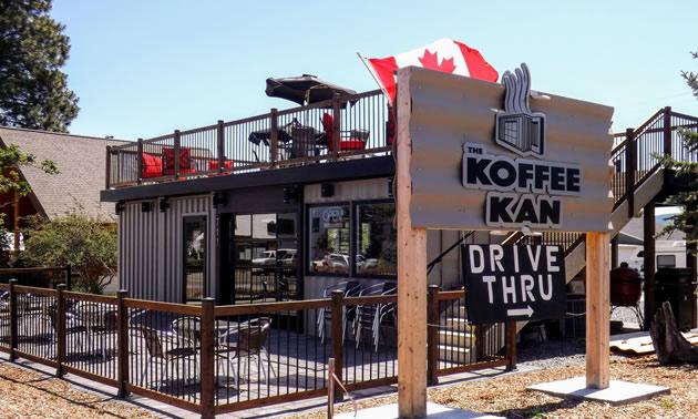 Koffee Kan, Kimberley, B.C.