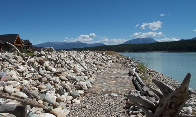 Lakefront at Koocanusa Village.