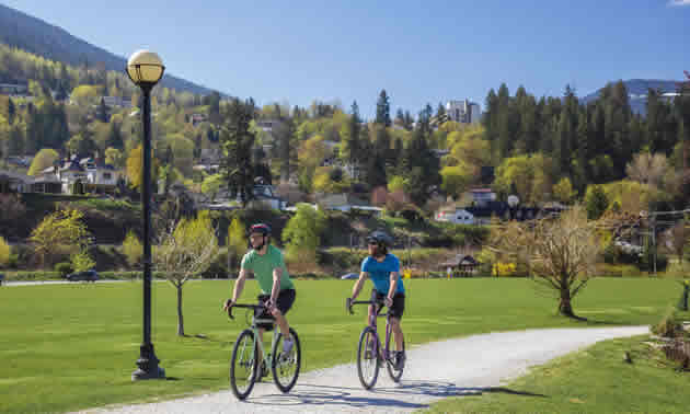 Kootenay Cycling Adventures is based in beautiful Nelson, B.C.