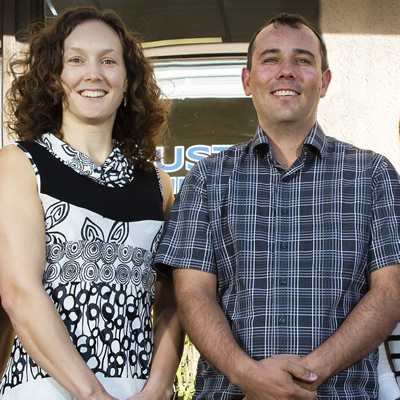 Mary and Roger Austin head up the team at Austin Engineering Ltd., located in Trail, B.C.