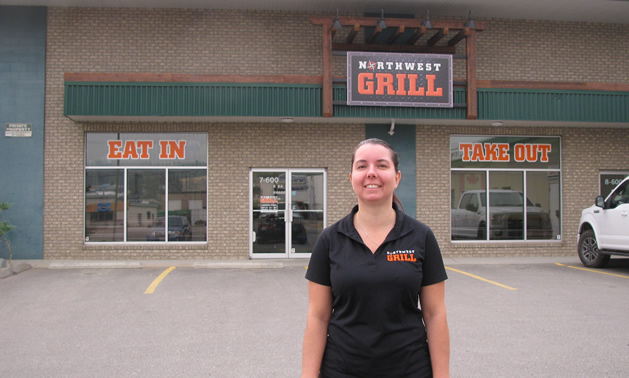 Jolene Salanski became owner of the Northwest Grill in Cranbrook on August 1, 2017.