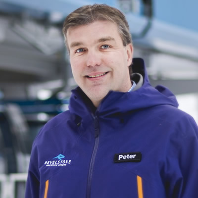 Peter Nielsen is vice-president of operations at Revelstoke Mountain Resort.