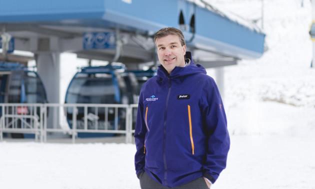 Peter Nielsen is vice-president of operations at Revelstoke Mountain Resort.
